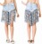 fringe jean shorts fron and back